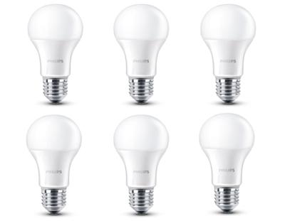 Pack de 6 Bombillas LED Philips