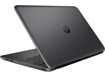 Vista trasera del portátil HP 250 G4 con Intel Core i5