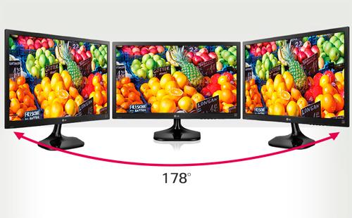Angulos de visión conseguidos por este monitor LG 27MP37VQ-B IPS