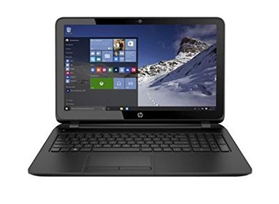 Vista general del portátil HP 255 G4