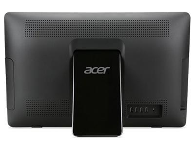 Vista trasera del Ordenador todo en uno Acer Aspire ZC-107