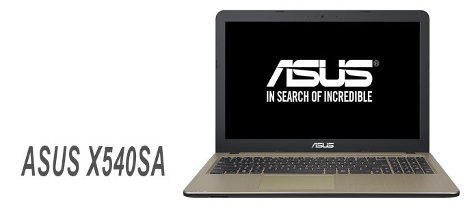 Portátil ASUS X540SA
