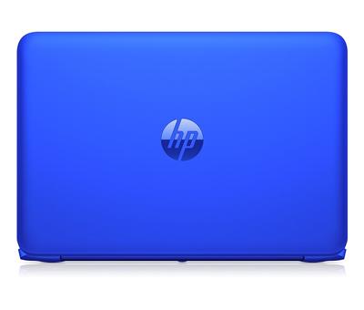 Vista trasera del portátil HP Stream 13