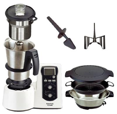 Robot de Cocina Taurus Mycook y complementos