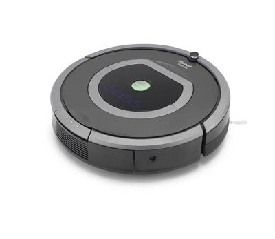 Vista general del robot aspirador iRobot Roomba 782