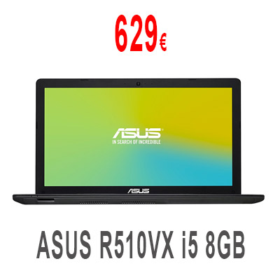 ASUS R510VX Intel i5 8GB RAM