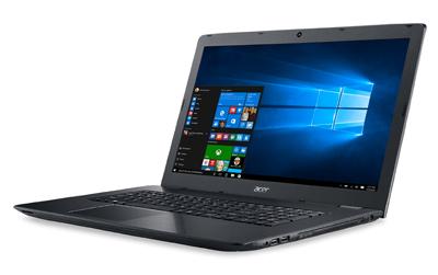 Vista ladeada del portátil Acer Aspire E5-774G-59PC