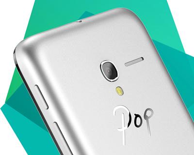 Detalle de la cámara del Alcatel Onetouch Pop 3