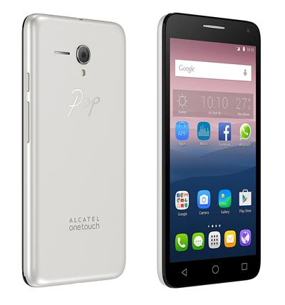 Varias vistas del SmartPhone Alcatel Onetouch Pop 3