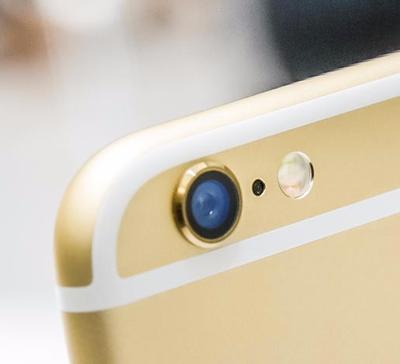 Detalle de la cámara del Apple iPhone 6 Plus de 16GB