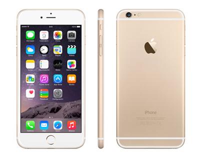 Varias vistas del Apple iPhone 6 Plus de 16GB