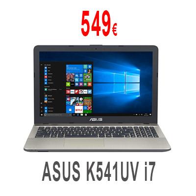 Portátil ASUS K541UV i7