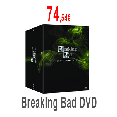 Breaking Bad Completa en DVD
