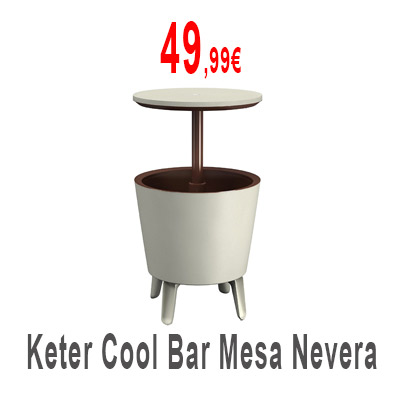Mesa con nevera Keter Cool Bar