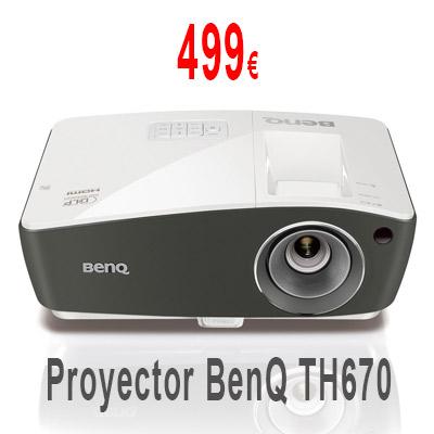 Proyector DLP BenQ TH670
