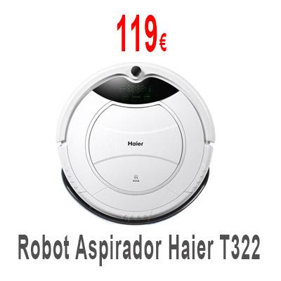 Robot Aspirador Haier T322