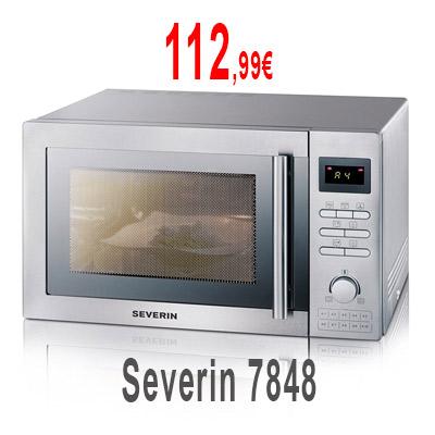 Severin 7848 25L con grill y aire caliente