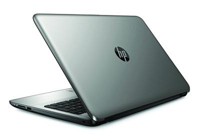 Vista lateral del portátil HP 15-ay125ns
