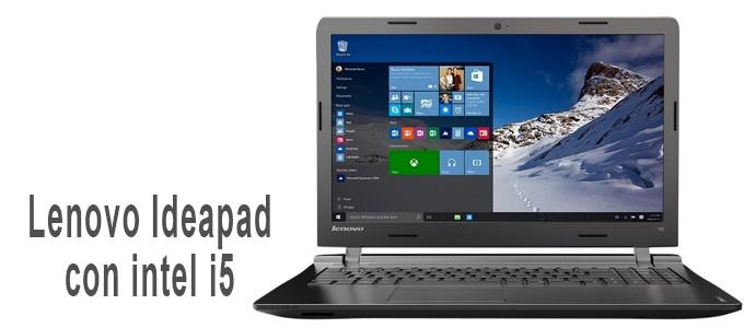 Lenovo Ideapad 100-15IBD con intel core i5.