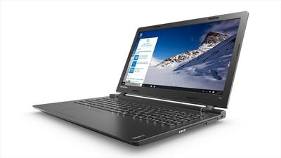 Vista lateral del portátil Lenovo Ideapad 100-15IBD