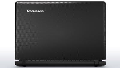 Vista trasera del portátil Lenovo Ideapad 100-15IBD intel core i5