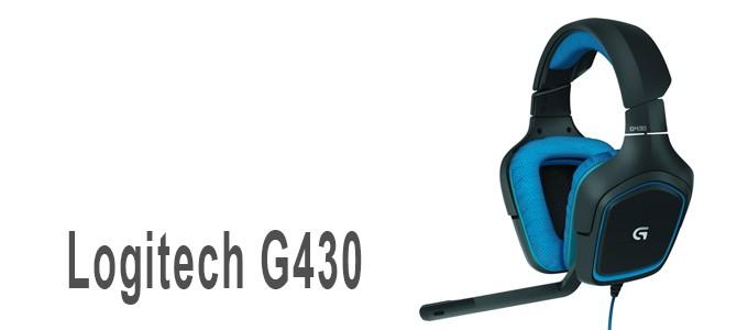 Auriculares gaming Logitech G430