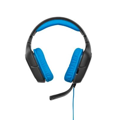 Vista frontal de los Auriculares con micrófono Logitech G430
