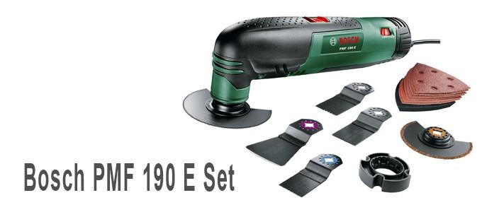 Herramienta multiusos Bosch PMF 190 E Set