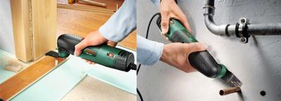 Accediendo a lugares difíciles con la herramienta Bosch PMF 190 E Set