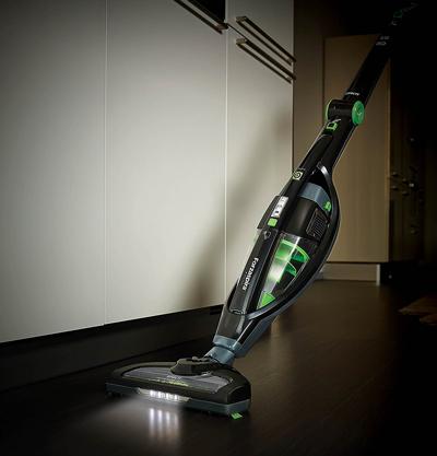 El cepillo de la Polti Forzaspira SR25.9 Plus incluye LEDs