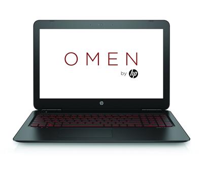 Vista general del portátil HP Omen 15