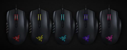 16,8 Millones de colores configurables en el ratón Razer MMO Chroma