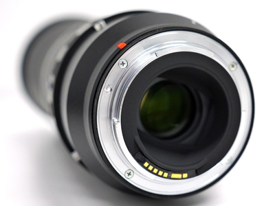 Objetivo Tamron SP 150-600mm