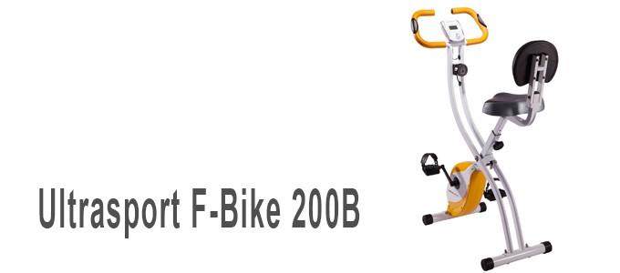 Bicicleta estática Ultrasport F-Bike 200B