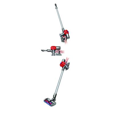 La aspiradora sin cable Dyson DC62 Animalpro, se puede usar para limpiar suelos, paredes y techos.