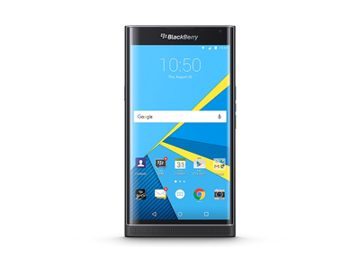 Vista general de la BlackBerry Priv
