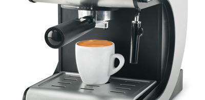 Detalle del vaporizador de la cafetera expreso Ufesa CE7141