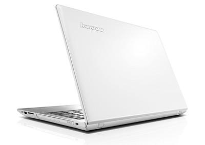 Vista posterior del portátil Lenovo IdeaPad 500-15ISK