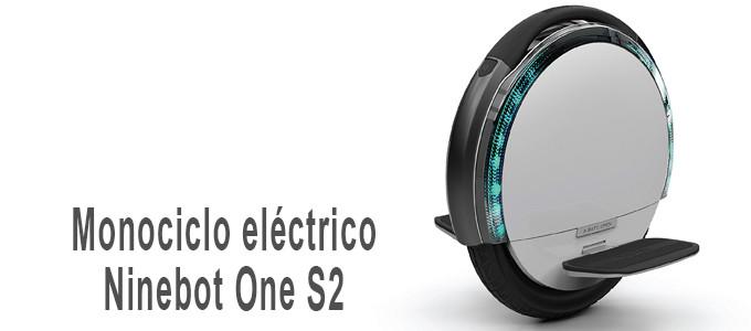 Monociclo eléctrico Ninebot One S2
