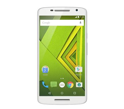 Vista frontal del Motorola Moto X Play