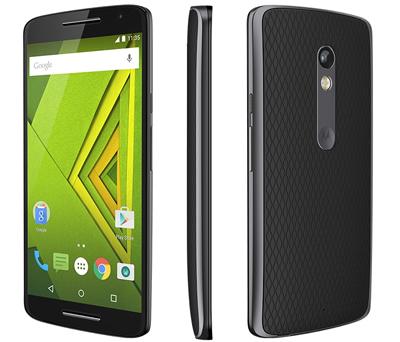 Varias vistas del Motorola Moto X Play