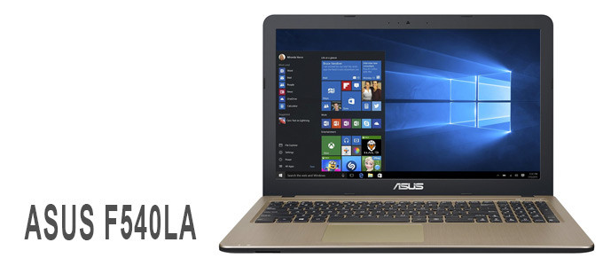 Portátil ASUS F540LA con Intel Core i5
