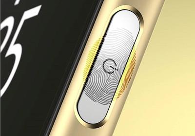 Sensor de huellas del móvil Sony Xperia Z5 Premium