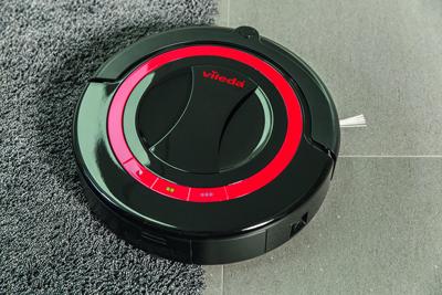 El robot Aspirador Vileda Relax Plus es capaz de limpiar todo tipo de suelos