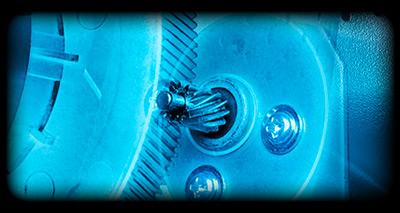 Engranajes helicoidales usados en el Volante Logitech G920