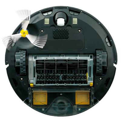 Limpieza en tres fases del robot aspirador iRobot Roomba 772