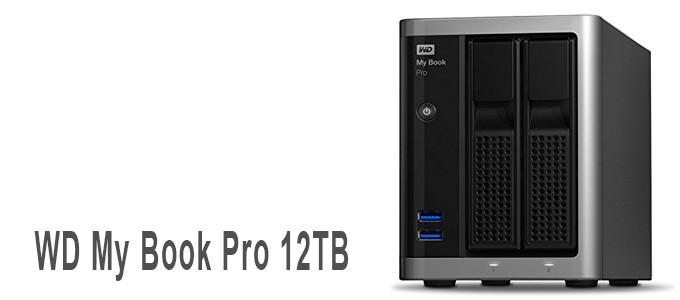 Almacenamiento WD My Book Pro de 12TB