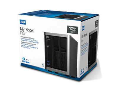 Vista general del sistema de almacenamiento WD My Book Pro de 12TB