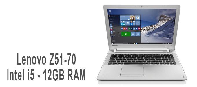 Portátil Lenovo Z51-70 con Intel i5