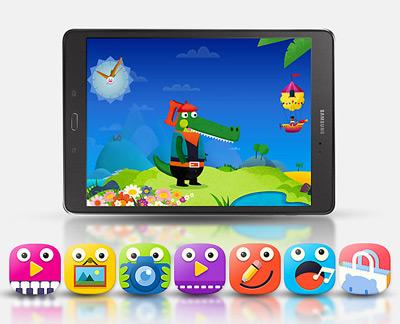 Vista general de la tablet Samsung Galaxy Tab A
